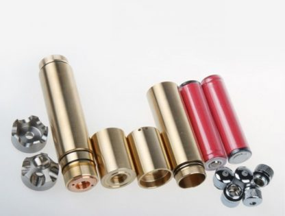 Silver shell blue beam laser pointer